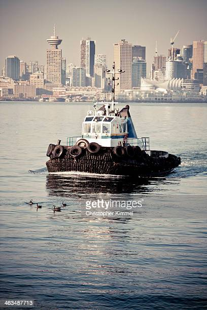 Tug Boat in Vancouver Harbour