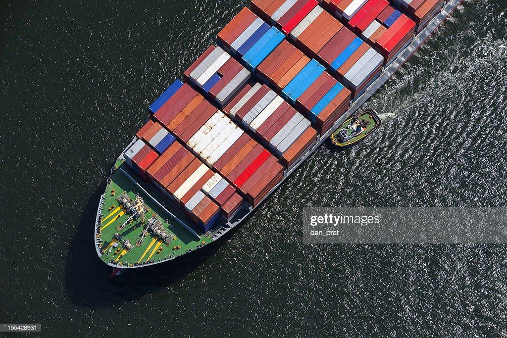 Tugboat vs. Ship