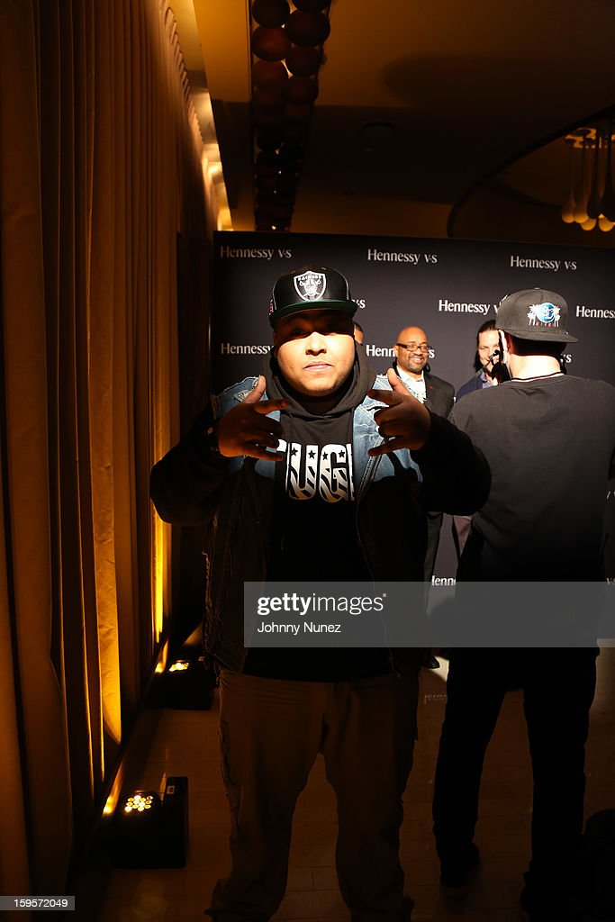 Tuge attends Hennessy vs Introduces Nas As Newest Partner at R Lounge at the Renaissance New York Times Square Hotel on January 15, 2013 in New York City.