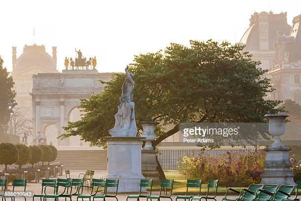 Tuileries Gardens, Paris, France