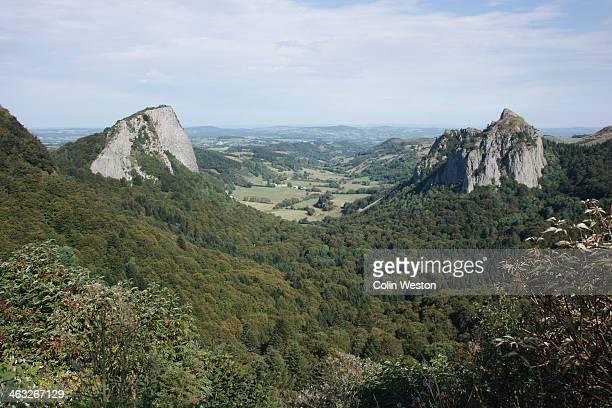 Tuiliere and Sanadoire rocks, Auvergne, France
