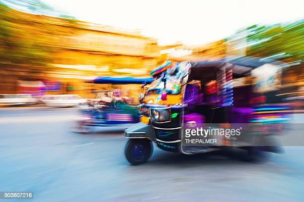 Tuk-Tuk, le Taxi, Inde