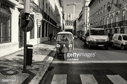 Tuk-Tuk in Lisbon : Stock Photo