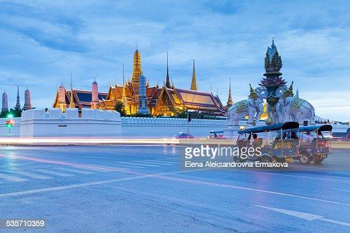 Tuk-Tuk near Grand Palace, Bangkok