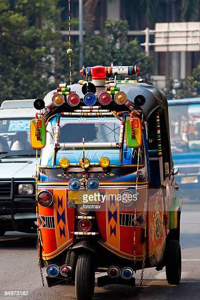 TukTuk Taxi in Jakarta, Indonesia