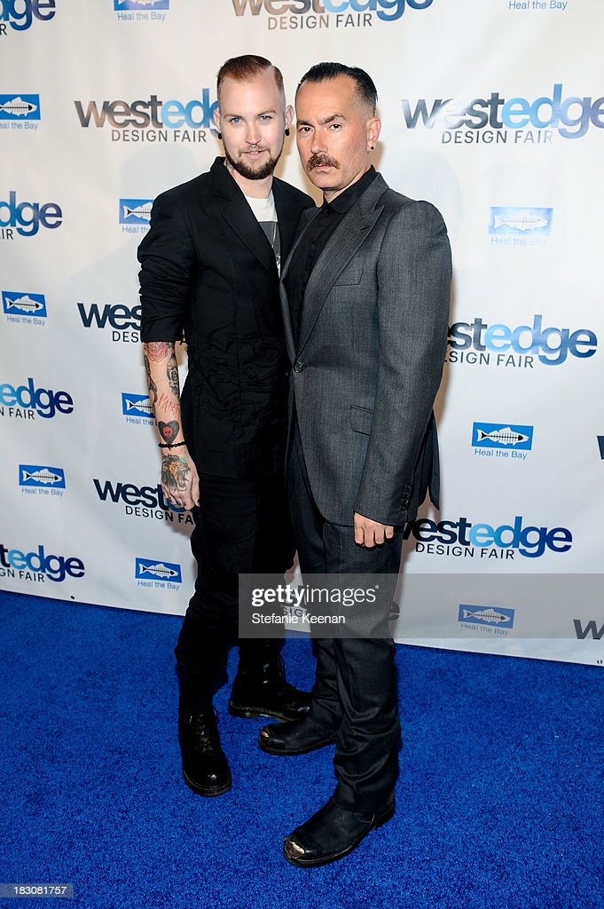 Tulbe and Kevin Posey attend WestEdge Design Fair at Barker Hangar on October 3, 2013 in Santa Monica, California.