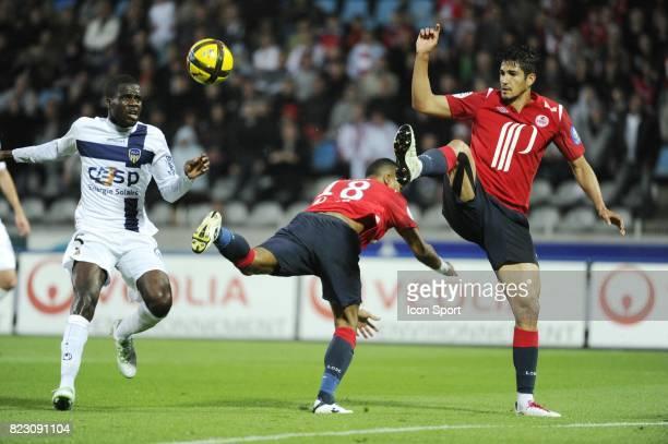 Tulio DE MELO / Bakary SORO / Franck BERIA Lille / Arles Avignon 33e journee de Ligue 1