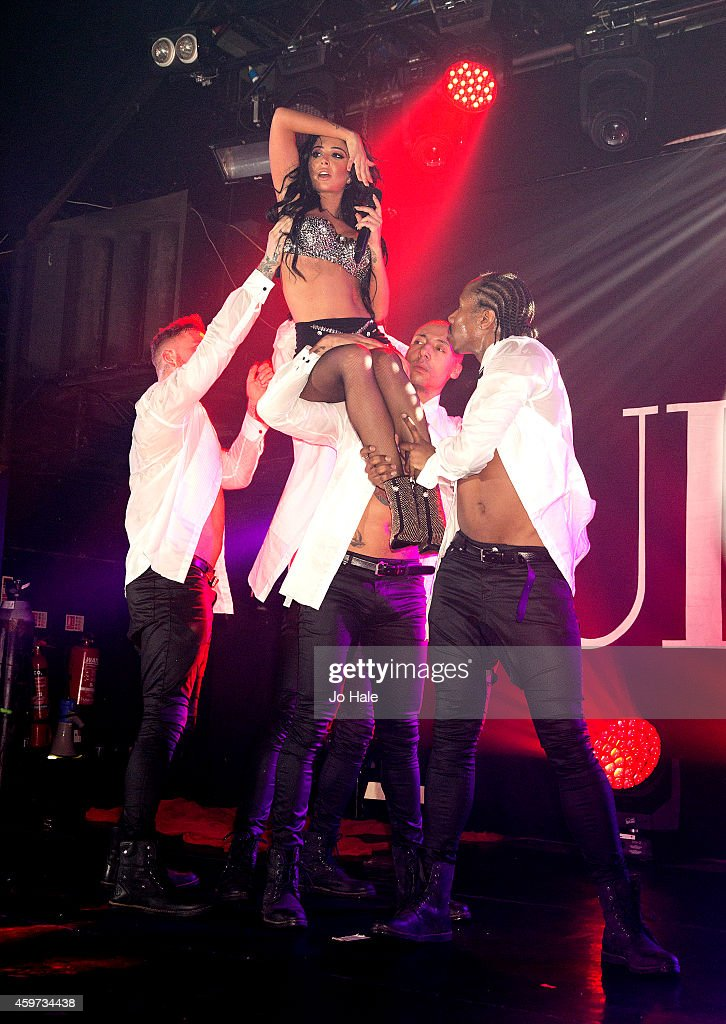 Tulisa Constovlios performs on stage at G-A-Y Club at at Heaven on November 29, 2014 in London, United Kingdom.