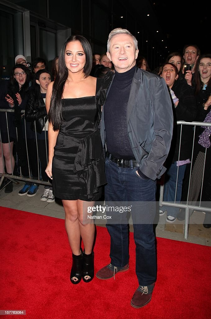 <a gi-track='captionPersonalityLinkClicked' href=/galleries/search?phrase=Tulisa+Contostavlos&family=editorial&specificpeople=6544720 ng-click='$event.stopPropagation()'>Tulisa Contostavlos</a> and <a gi-track='captionPersonalityLinkClicked' href=/galleries/search?phrase=Louis+Walsh&family=editorial&specificpeople=240131 ng-click='$event.stopPropagation()'>Louis Walsh</a> attends a press conference ahead of the X Factor final this weekend at Manchester Conference Centre on December 6, 2012 in Manchester, England.