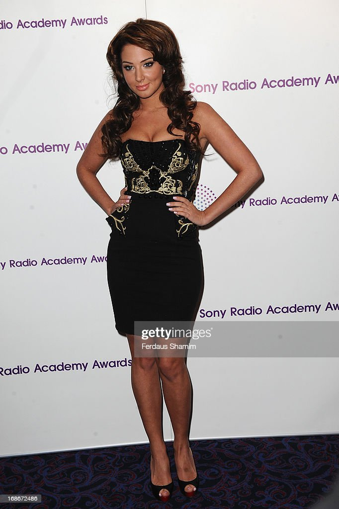 Tulisa Contostavlos attends the Sony Radio Academy Awards at The Grosvenor House Hotel on May 13, 2013 in London, England.