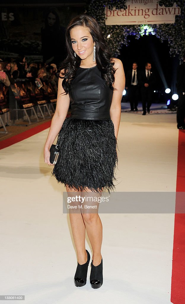 <a gi-track='captionPersonalityLinkClicked' href=/galleries/search?phrase=Tulisa+Contostavlos&family=editorial&specificpeople=6544720 ng-click='$event.stopPropagation()'>Tulisa Contostavlos</a> attends the UK Premiere of 'The Twilight Saga: Breaking Dawn Part 1' at Westfield Stratford City on November 16, 2011 in London, England.