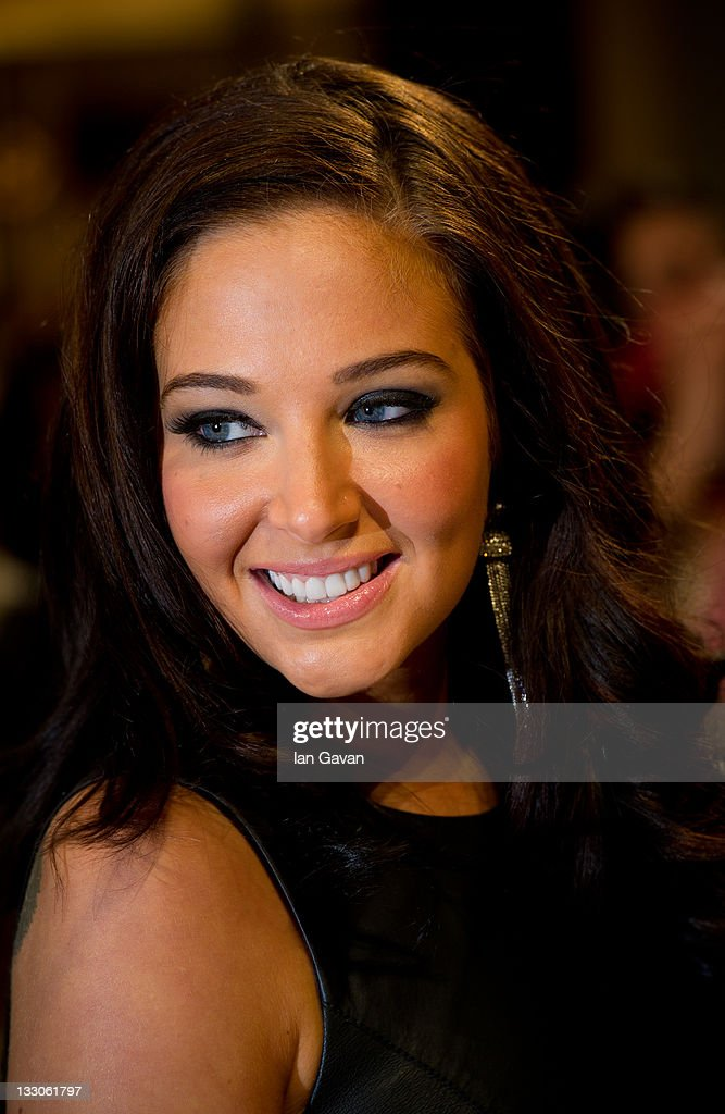 Tulisa Contostavlos attends the UK premiere of The Twilight Saga: Breaking Dawn Part 1 at Westfield Stratford City on November 16, 2011 in London, England.