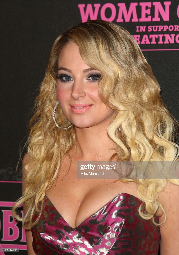 Tulisa of NDubz attends the PINKTOBER Women Of Rock Charity Concert at Royal Albert Hall on November 1 2009 in London England