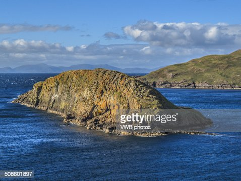 Tulm Island, Duntulm Bay, Isle of Skye : Stock Photo