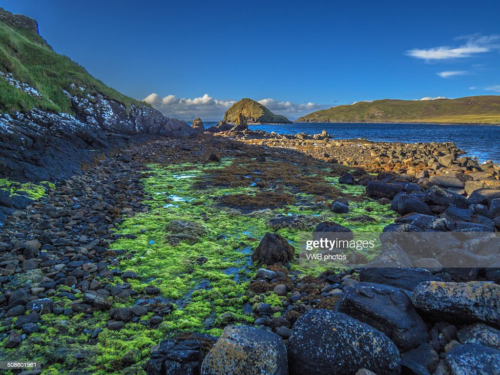 Tulm Island, Duntulm Bay, Isle of Skye : Foto de stock