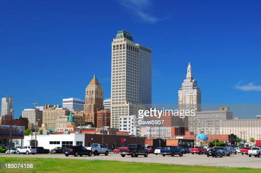 Tulsa downtown buildings