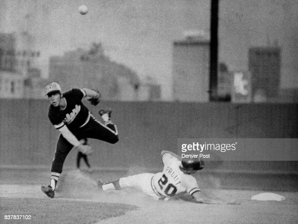 Tulsa Keystone Averts DoublePlay Breakup Ron Pruitt of the Denver Bears did all he could to break up the double paly but Tulsa second baseman Mike...