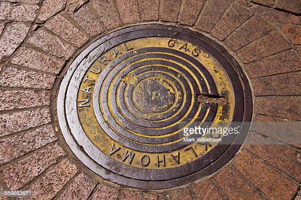 Tulsa manhole cover