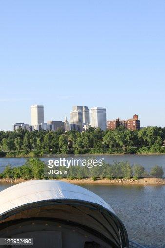Tulsa, Oklahoma Skyline