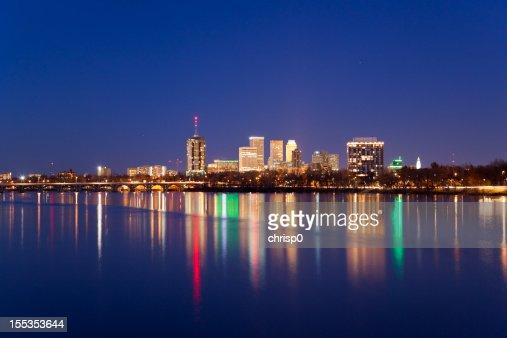 Tulsa Skyline at Twilight