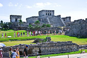 Tulum is the site of a PreColumbian Maya walled city serving as a major port for Cobá The ruins are situated on 12meter tall cliffs along the east...
