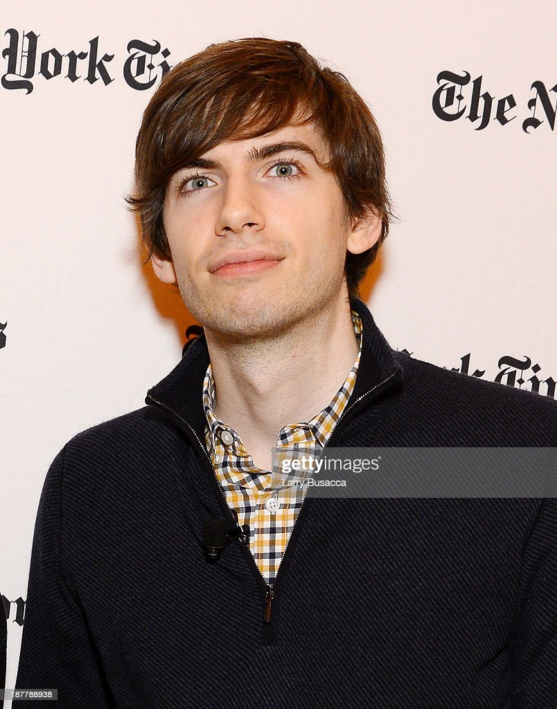 Tumblr founder <a gi-track='captionPersonalityLinkClicked' href=/galleries/search?phrase=David+Karp&family=editorial&specificpeople=6603515 ng-click='$event.stopPropagation()'>David Karp</a> attends the New York Times 2013 DealBook Conference in New York at the New York Times Building on November 12, 2013 in New York City.