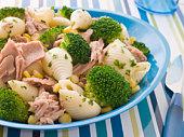 Tuna and Broccoli Pasta Shells
