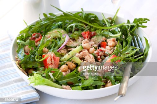 Tuna and Chickpea Salad : Stock Photo