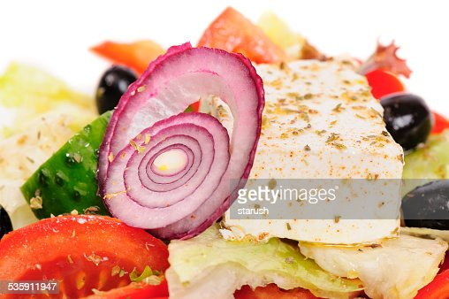 Tuna and vegetable salad : Stock Photo