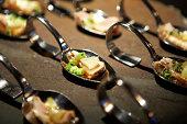 Gourmet, tasting, food, fine dining