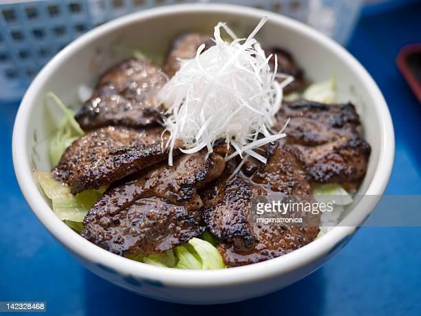 Tuna Cheek Steak Donburi