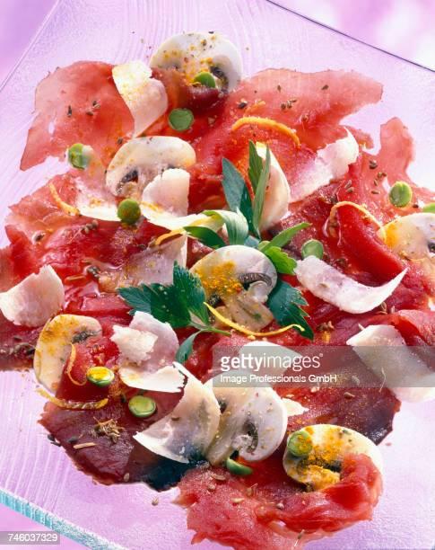 Tuna fish carpaccio