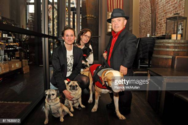 Tuna Larissa Whitney Moby Jennifer Coffey Oliver Shorty Rossi and Hercules attend TAILS of the Mayor's Alliance for NYC's Animals Holiday Soiree at...