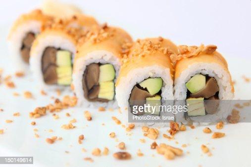 Tuna Sushi : Foto de stock