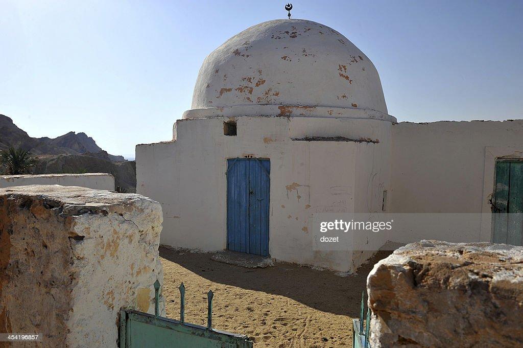 Tunisia- Oasis Chebika : Foto de stock