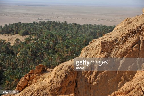 Tunisia- Oasis Chebika : Stock Photo