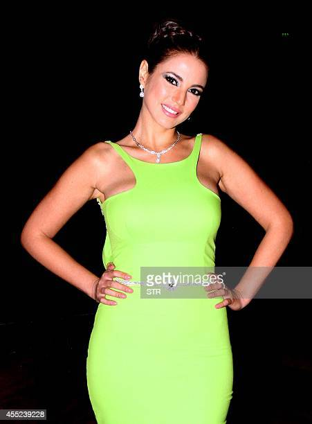 Tunisian actress Durra attends the 30th Alexandria film festival in Egypt's northern coastal city of Alexandria on September 10 2014 AFP PHOTO / STR
