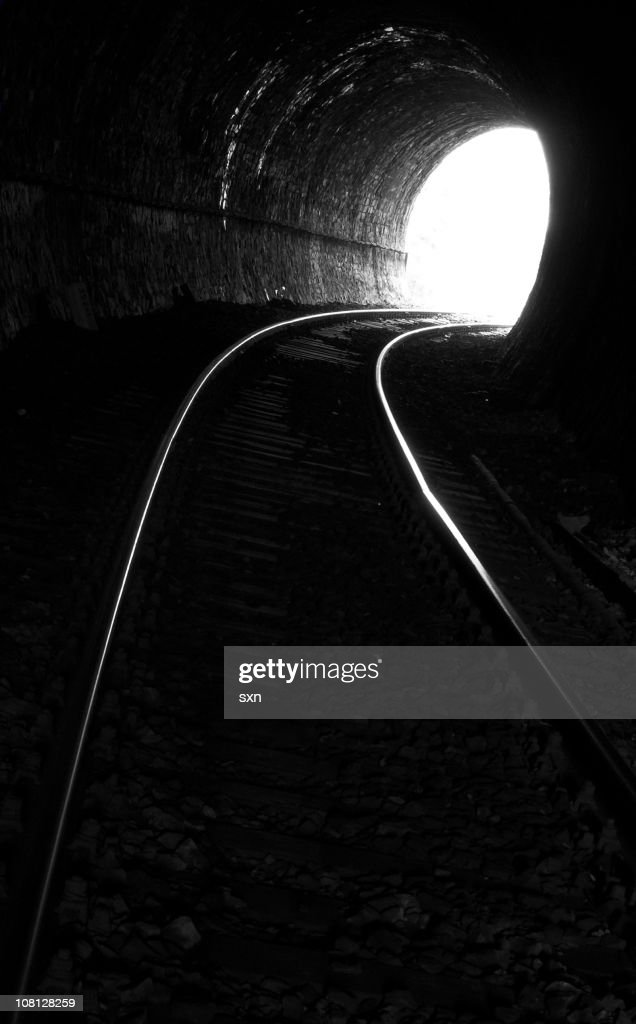 Tunnel End 2 : Stock Photo