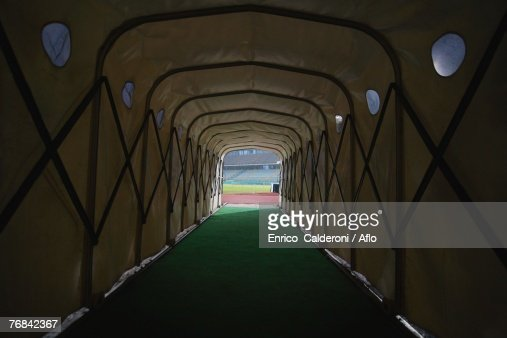 Tunnel Leading To A Stadium