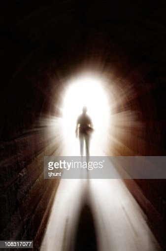 Tunnel of light : Stock Photo
