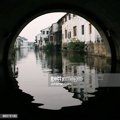 Tunnel through the dark Canal