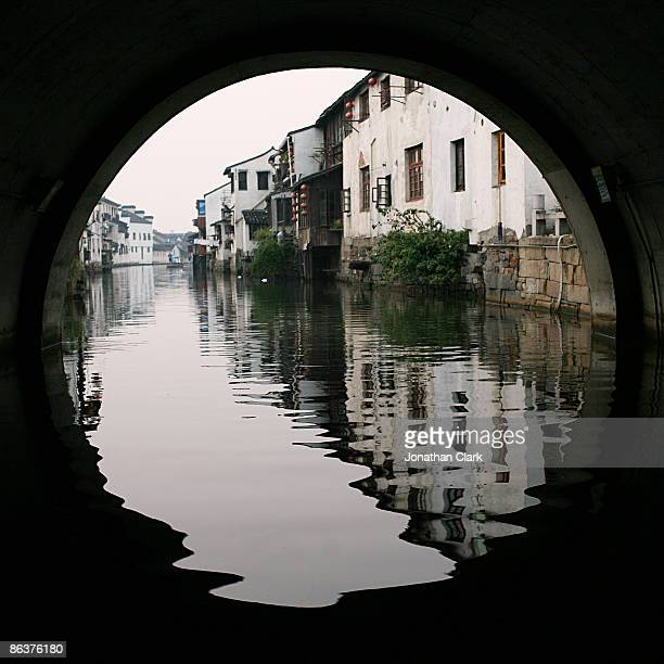 Tunnel through the dark Canal
