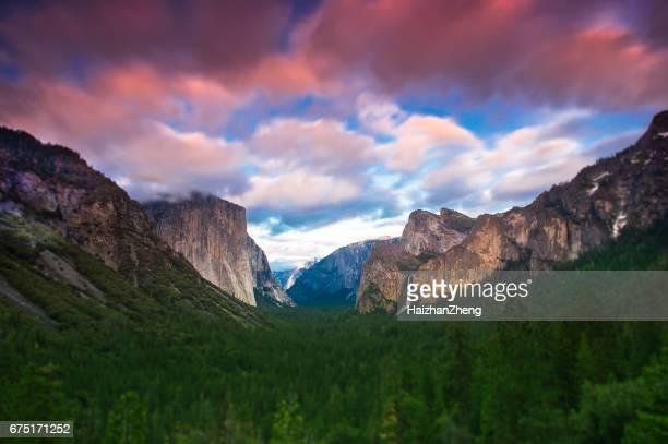 Tunnel View of Yosemite