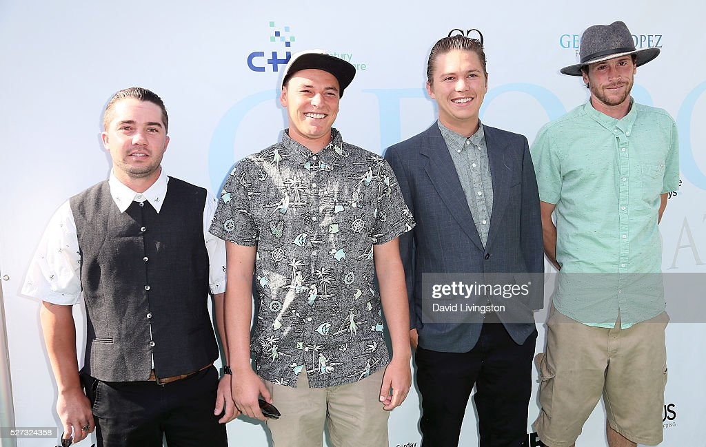 Tunnel Vision members attend the Ninth Annual George Lopez Celebrity Golf Classic at Lakeside Golf Club on May 2, 2016 in Burbank, California.