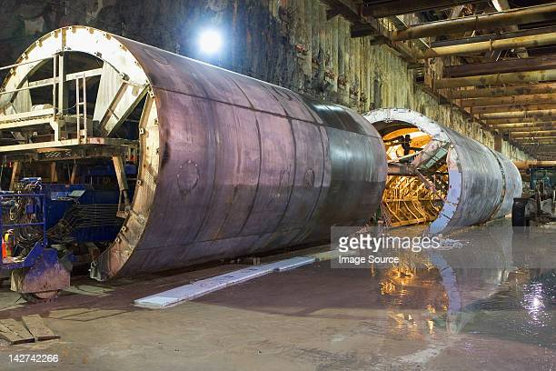 Tunnels, construction of Second Avenue Subway, New York City, USA