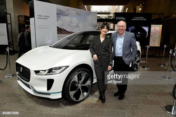 Tunstall and Ian Callum attend the Technology with Heart Jaguar Land Rover's Tech Fest at Central St Martins on September 7 2017 in London England