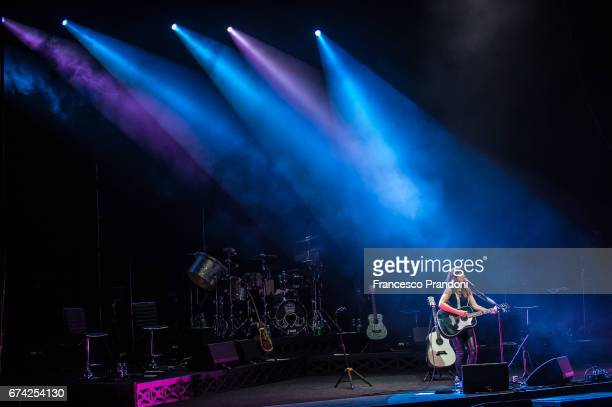 Tunstall Performs at Teatro degli Arcimboldi on April 27 2017 in Milan Italy