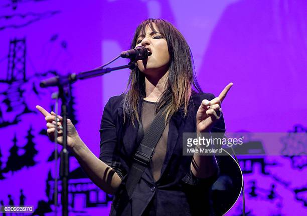 Tunstall performs on stage at the SeriousFun Children's Network London Gala 2016 at The Roundhouse on November 3 2016 in London England