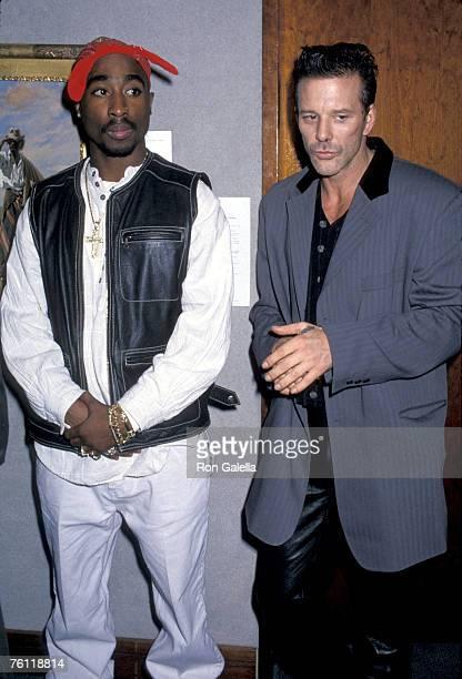 Tupac Shakur and Mickey Rourke