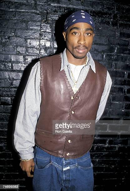 Tupac Shakur at the Club USA in New York City New York